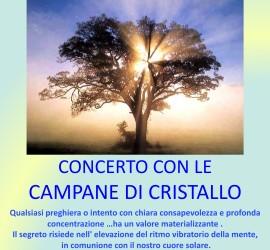 CONCERTO CON LE CAMPANE DI CRISTALLO